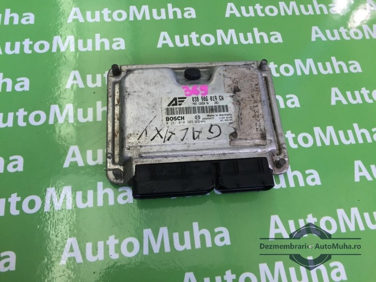 Calculator motor ecu Ford 0281010309 038906019CA   YM2112A650MA