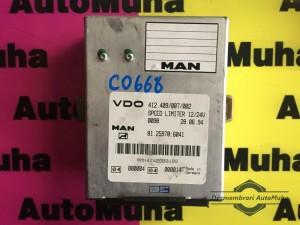 Calculator confort-limitator de viteza MAN